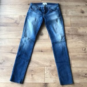 Current/Elliot the rolled skinny jean